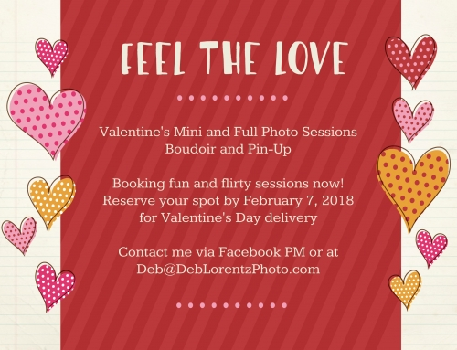 Mini Sessions Added to Valentine's Day Special