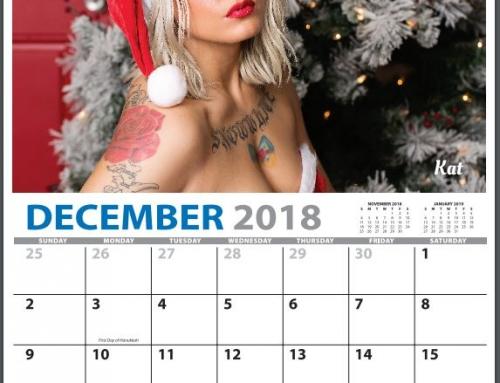 2018 Wheels & Heels Calendar