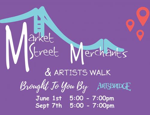 Artsbridge Market Street Merchants & Artists Walk September 7